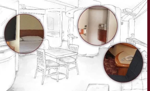 Habitación Ejecutiva una cama, Hotel Villa Quijotes